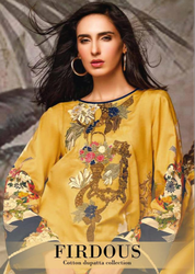 Deepsy Firdous Cotton Dupatta Collection Pakistani Medium Range Suits Catalog