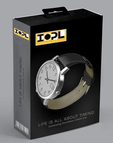 Printed Watch Packaging Box \'\'Make in INDIA\'\'