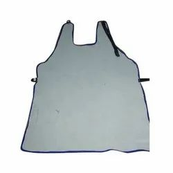 leather Natural colour Aprons, For Safety & Protection, Size: 24*36