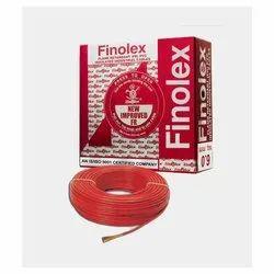 0.75 Sq Mm Finolex Flame Retardant PVC Insulated Red Cable