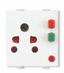 OEM 6 Amps Combo Socket, Ac 240 V