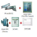 Electromagnetic Lock Combo