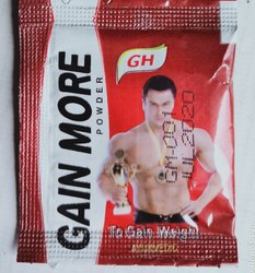Gopal Herbal Gain More Powder 30 PC, Packaging Type: Pouch