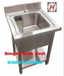 Kitchen Single Sink Unit