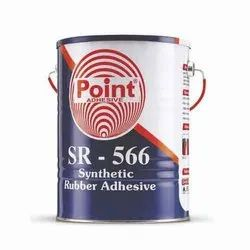 SR-566 Synthetic Rubber Adhesive, Tin Bucket, 5 L