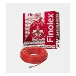 1.5 Sq Mm Finolex Flame Retardant PVC Insulated Red Cable