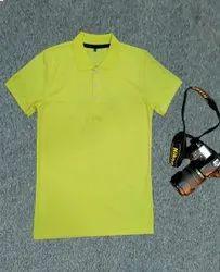 100%Polyster 25种颜色Nirmal针织项圈T恤,GSM:150-200