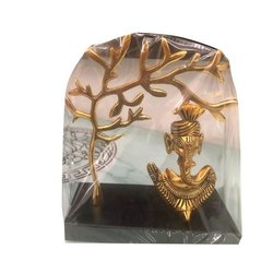 Decorative Brass Table Top Ganesha Handicraft, For Decoration