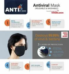 Anti Viral Mask (Reusable & Washable) Heiq Viro Block Mask