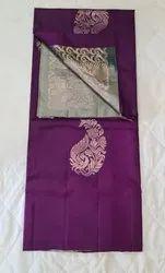 Violet Color Silk Saree