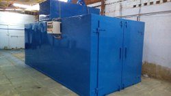 TECNOVIA Steel Powder Coating Plant, Electric, Cross-Flow Type