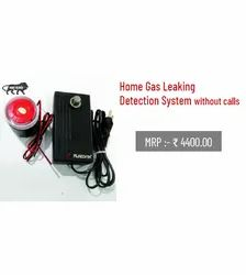 Home Gas Leakage Detection System without calls