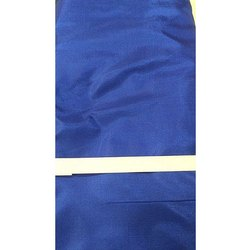 Blue Plain Banglori Silk Fabric
