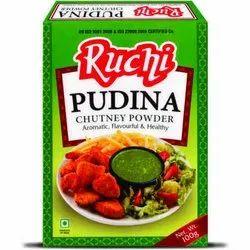 Ruchi Pudina Masala, Packaging Size: 100g