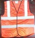 Metro Florescent Reflective Jacket 100% Polyester