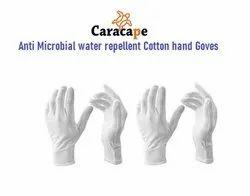 White Premium Hand Gloves Antibacterial Anti Viral (25 Washes)