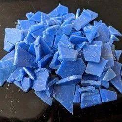 Blue HDPE Plastic Caret Grinding Scrap, Packaging Type: Sack Bag
