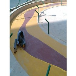 Colored Concrete Flooring Service