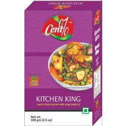 Cent% Kitchen King Masala, Packaging Size: 100 g, Packaging Type: Box