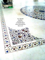 Home Marble Inlay Flooring