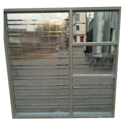 Modern White Stainless Steel Windows