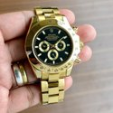 Automatic Analog Rolex Gold Watch For Man