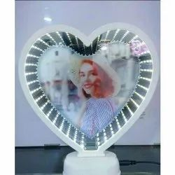 Heart Shaped Magic Mirror
