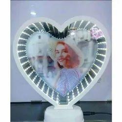 Heart Shaped Magic Mirror