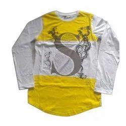 Cotton XXL Mens Full Sleeves T-Shirt