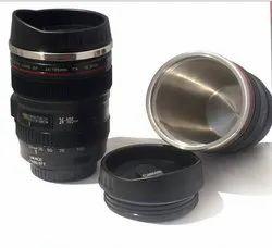Pvc Plastic Camera Lens Mug, Size: Regular, Size: 15cmX8.3cm