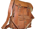 Goat Leather Retro Backpack
