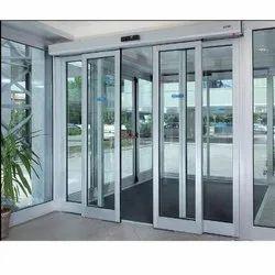 Transparent Glass, Aluminum Automatic Sensor Sliding Door