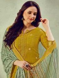 Kessi Rangoon Crystal Straight Pattern Readymade Salwar Suits Catalog