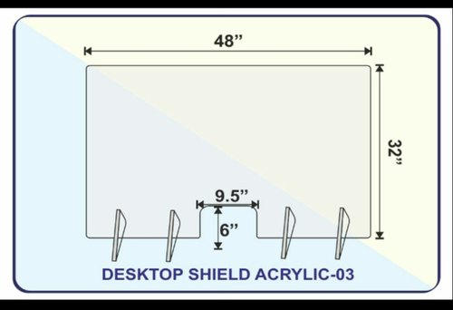 Desktop Shield Acrylic 3