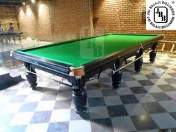JBB Steel Cushion Snooker Billiards Table