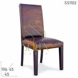 Leather Parsons Fine Dine Chair