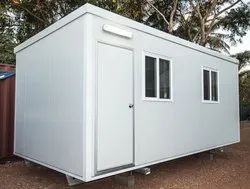 PUF Modular Prefabricated Railway Shelters, For Factory