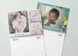 2020,2021 Paper Table Calendar, For Promotion