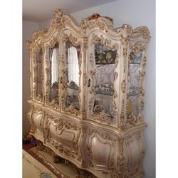 Wooden Antique Showcase