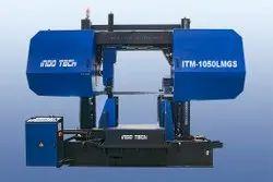ITM-1050LMGS - Semi Automatic Double Column Bandsaw Machine On Lmg