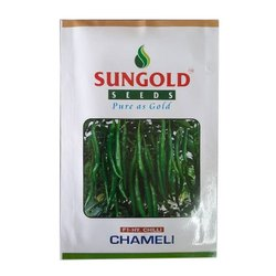 Chameli F1 Hybrid Chilli Seed, For Agriculture, Packaging Size: 10 Gm