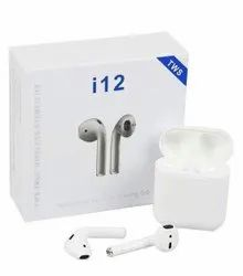 Mobile White Airpods i12