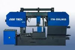ITM-550LMGS - Semi Automatic Double Column Bandsaw Machine On Lmg