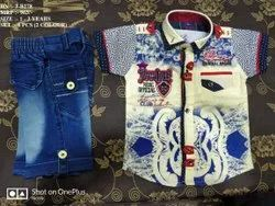 VERY STYLISH DESIGN SHIRT & PANT SET FOR BOYS