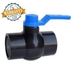 Jepal  Solid Ball Valve Long Handle MS Plate Black