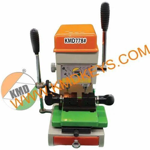 Kmd778 Side Ultra Key Cutting Machine Silver