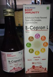B-Complex With Lysine, For Commercial, Packaging Size: 200 Ml