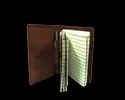 Refillable Handmade Leather Journal With Pen