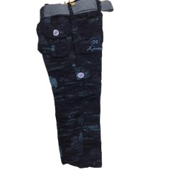 15+ Printed Boys Fashion Cargo Cotton Pant