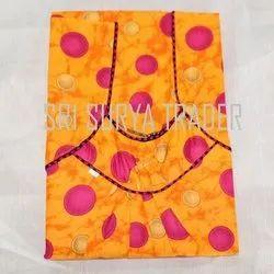 Full Length Cotton Ladies Printed Nighty, XXL